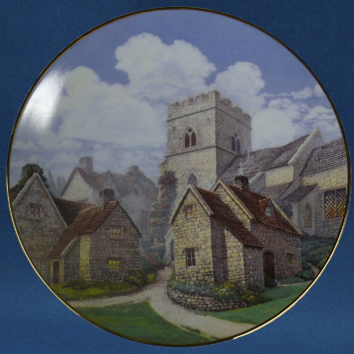 Cotswold Village Plate