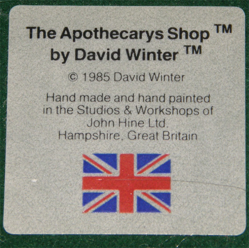 The Apothecarys Shop