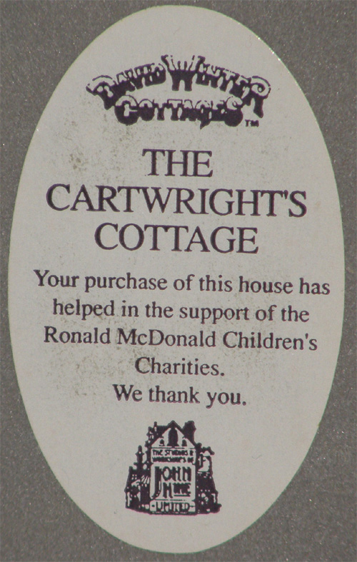 The Cartwright's Cottage