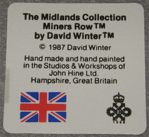 Miners Row (also known as Coalminers Row)