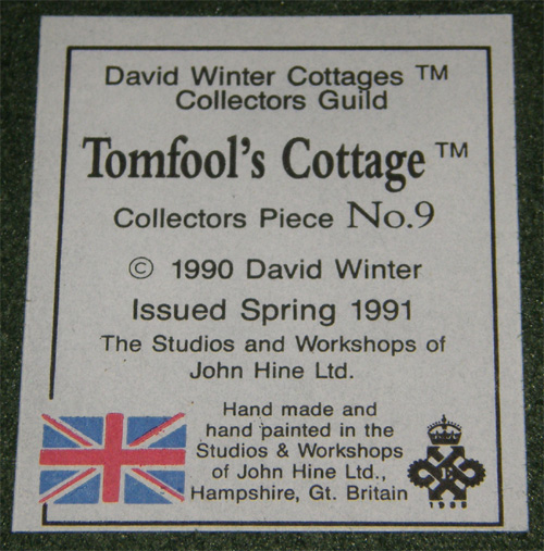 Tomfool's Cottage