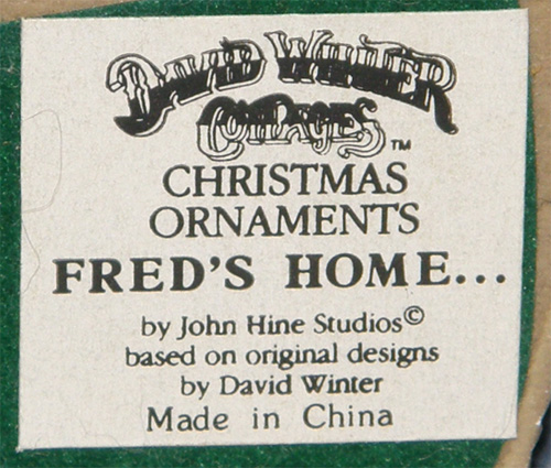 Christmas Ornaments - Fred's Home